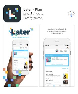 download do aplicativo mobile later