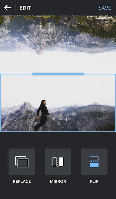 ferramentas do aplicativo de fotos layout