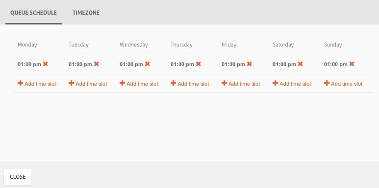 horarios de agendamento de post