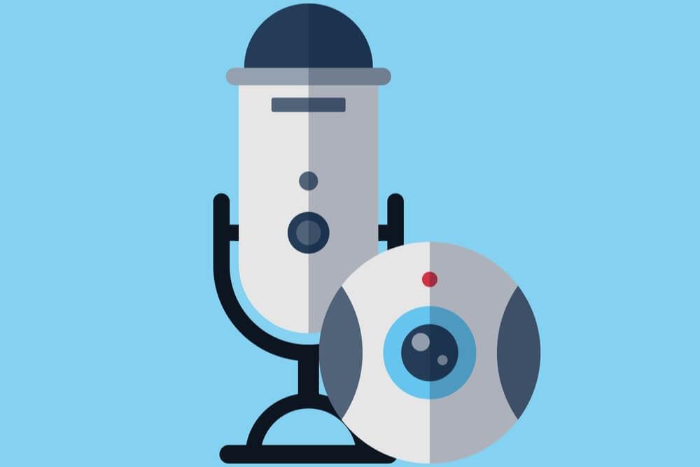 ilustração referente a vlog e videocast