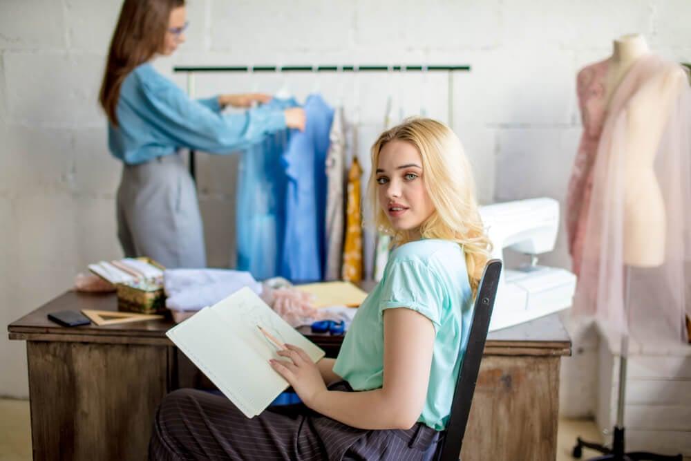negócio de moda como ideia de negócio próprio