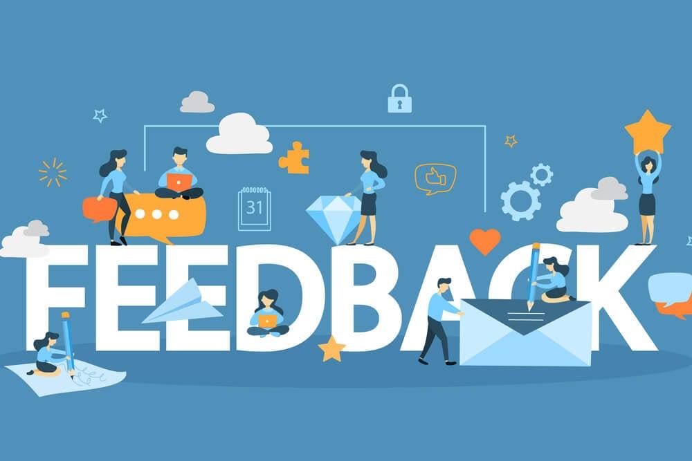 videos de marketing  obtrenha feedback externo