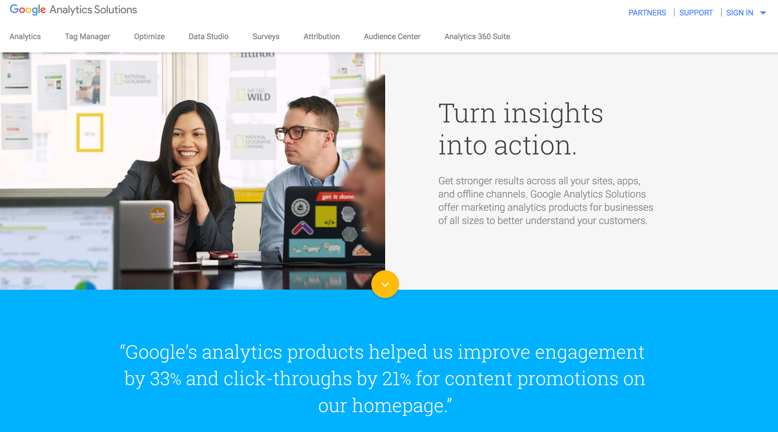 Arc and Google Analytics Solutions Marketing Analytics Measurement