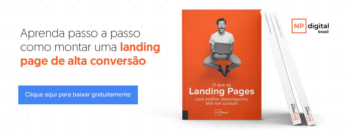 o segredo da landing pages de alta conversão