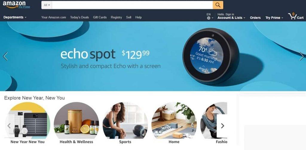 B2C Amazon