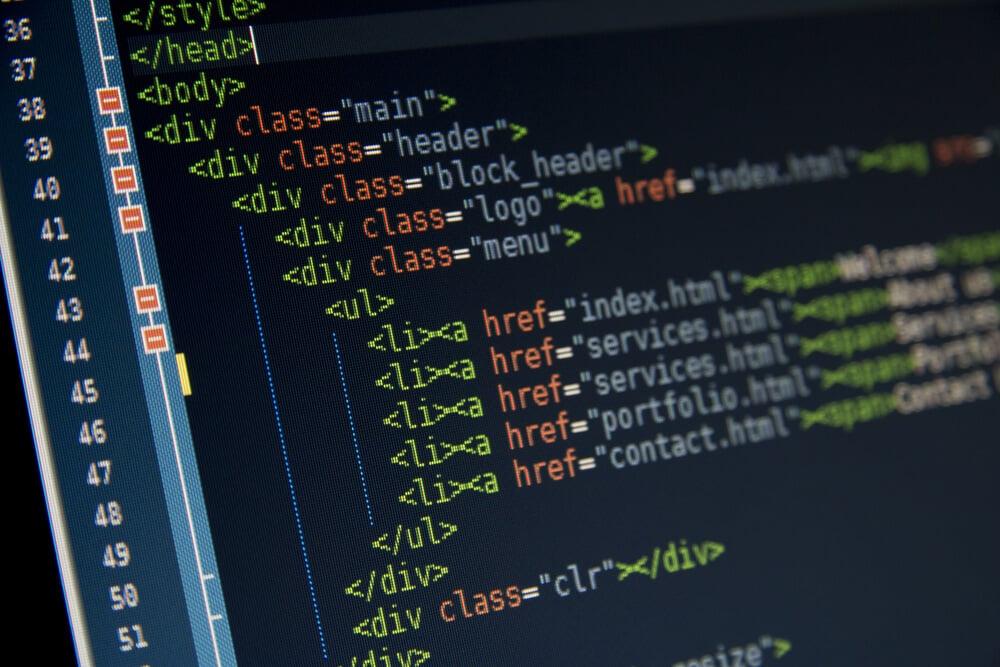 códigos html para páginas web