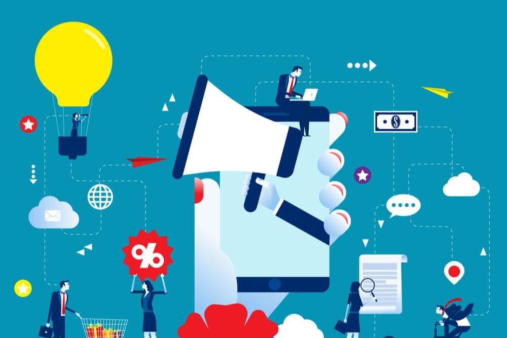ilustração sobre plano de marketing digital para sua empresa