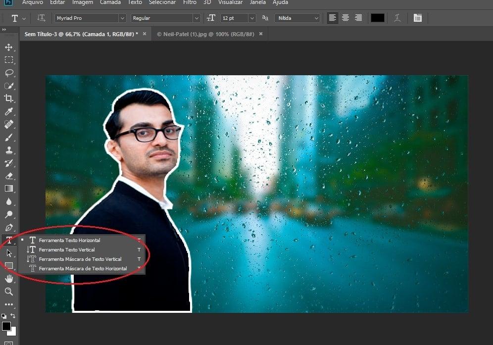 thumbnail photoshop texto
