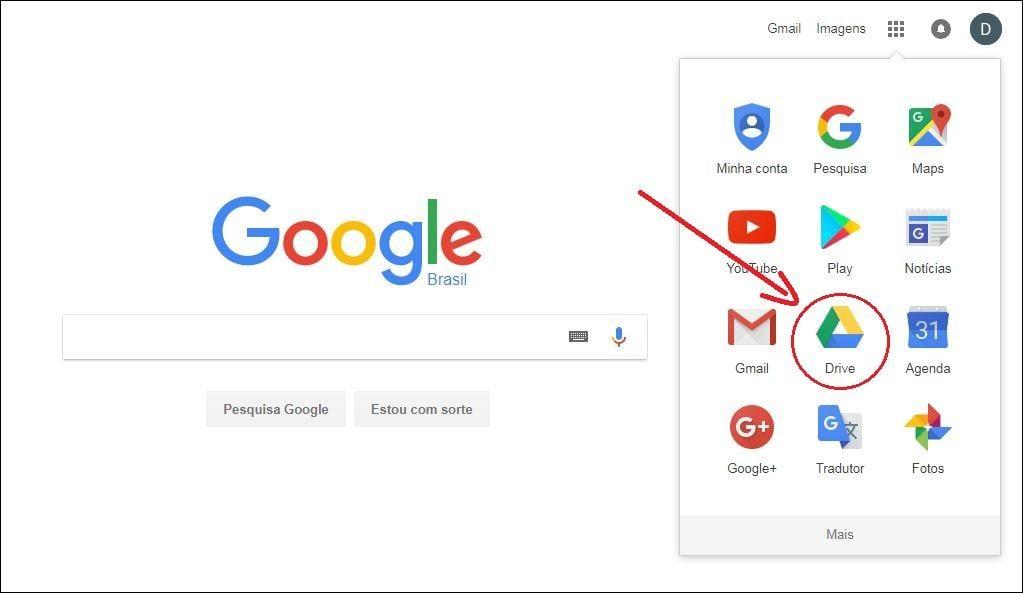 Google drive guia completo como usar o armazenamento em nuvem acessando o google drive stopboris Image collections