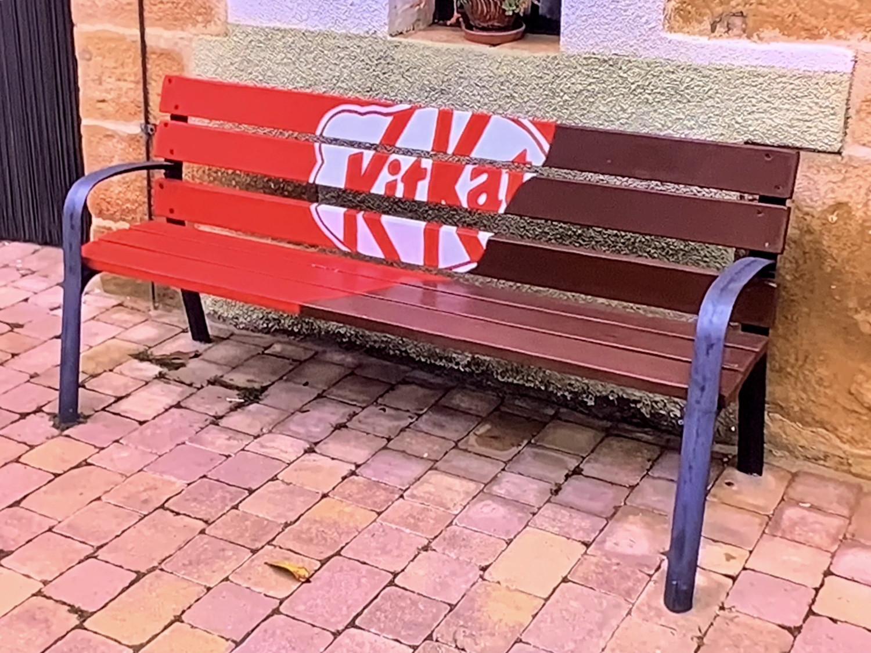 marketing de guerrilha urbano da marca kitkat