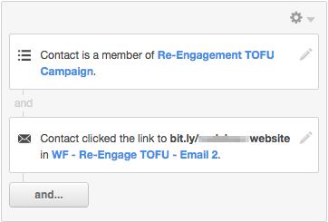re-engagement tofu