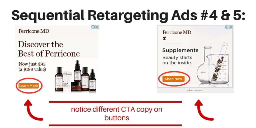 sequential retargeting ads