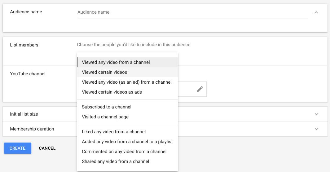 youtube retargeting