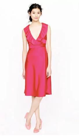 Petite Rosalind dress in tricotine dresses J Crew2