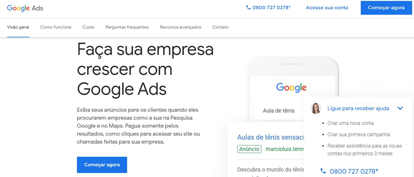 Ads com cupons offline como exemplo de campanha de marketing direto