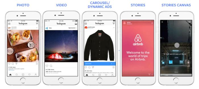 formas de publicação de fotos e vídeos no instagram