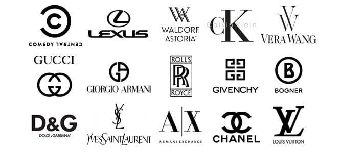 logotipos de empresas que utilizam preto na identidade visual