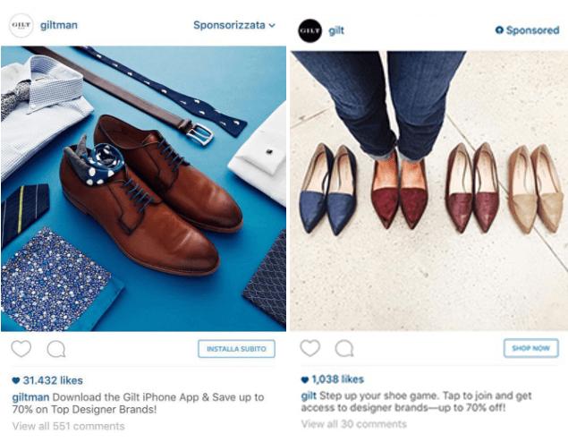 perfis no instagram de vendas de roupas e calçados