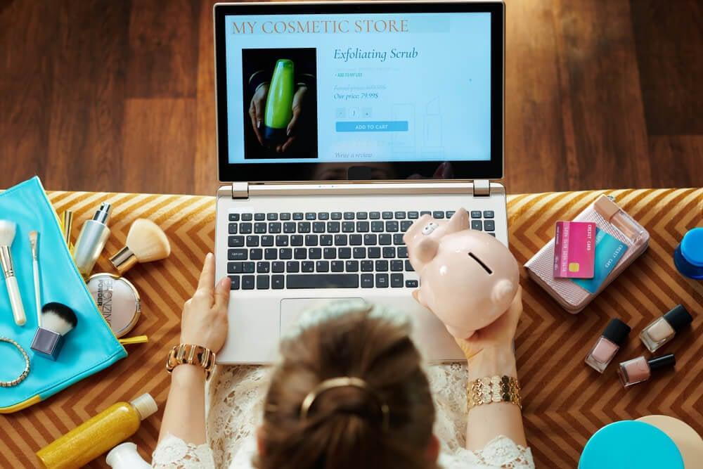 profissional de vendas online de cosmeticos