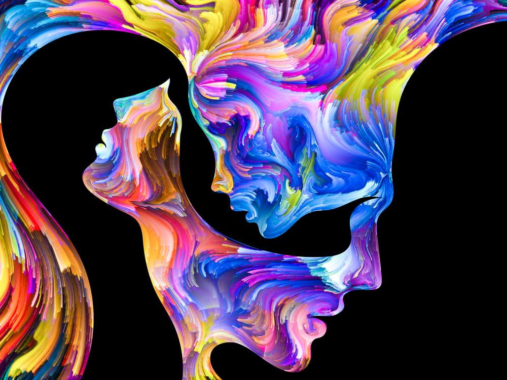 relação humana com as cores