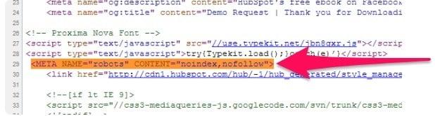 robots html code