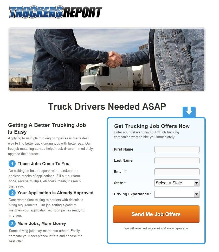 truckers report original
