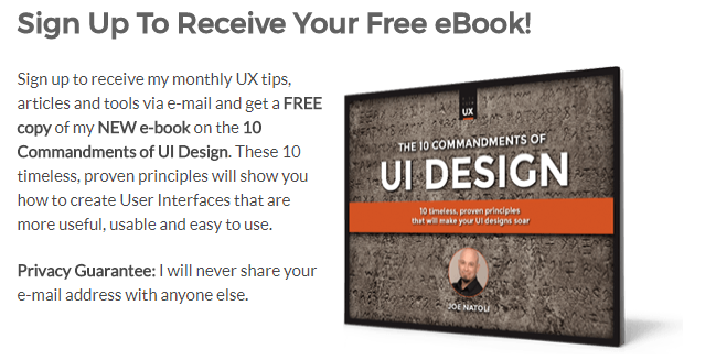 2018 04 06 15 15 57 Sign Up To Receive Your Free eBook Give Good UX Joe Natoli