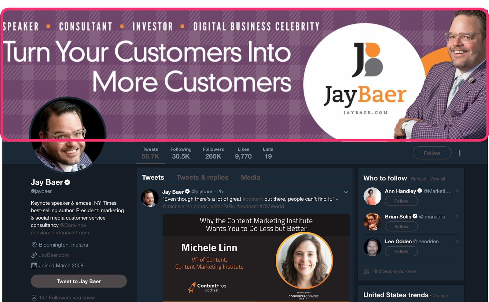 Jay Baer jaybaer Twitter