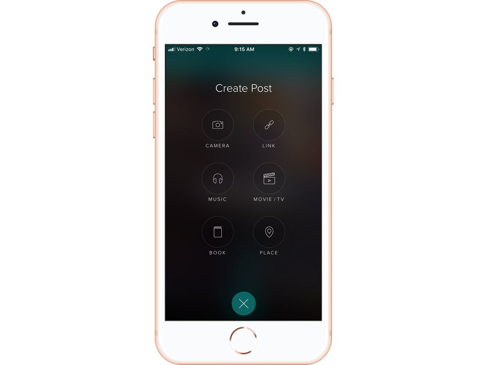 create post in vero