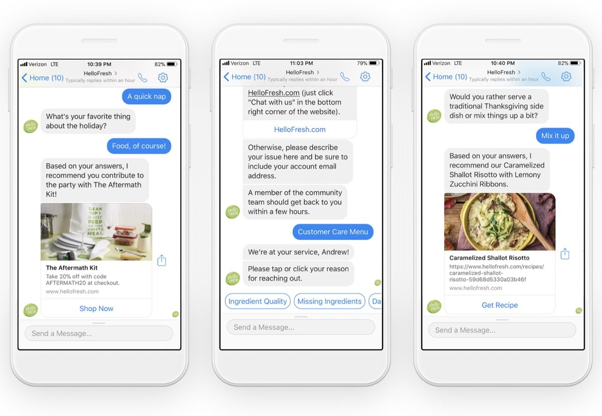 hellofresh chatbot