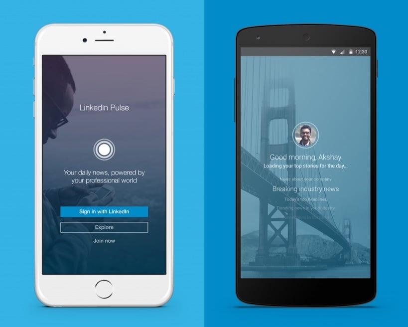 linkedin pulse app