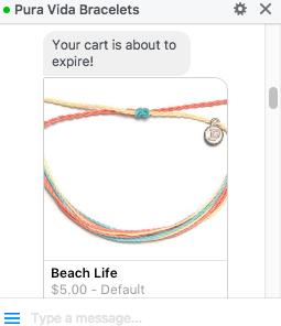 pura vida bracelets chatbot