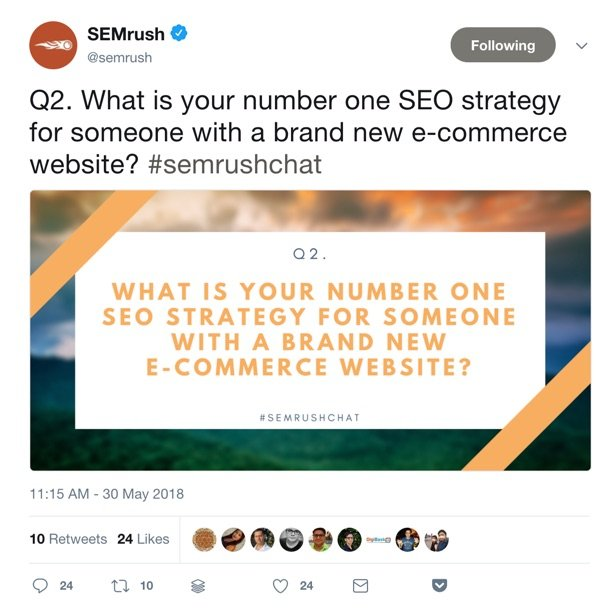 semrush tweet