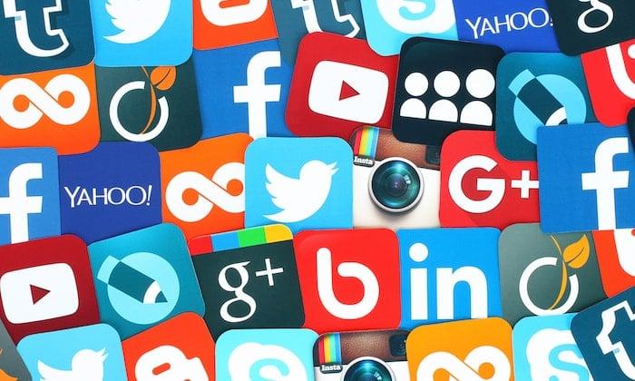 as redes sociais mais usadas no brasil e no mundo