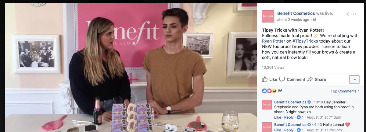 21 Benefit Cosmetics Videos
