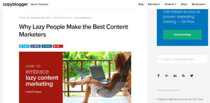 blog copyblogger