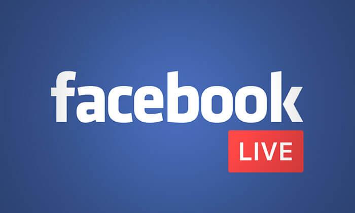 logotipo facebook live
