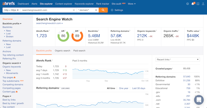 search engine watch