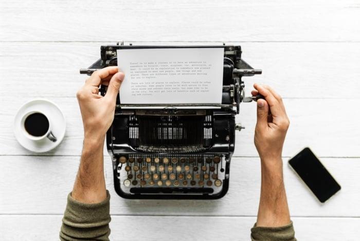 desenvolvimento do texto na hora de criar ebooks