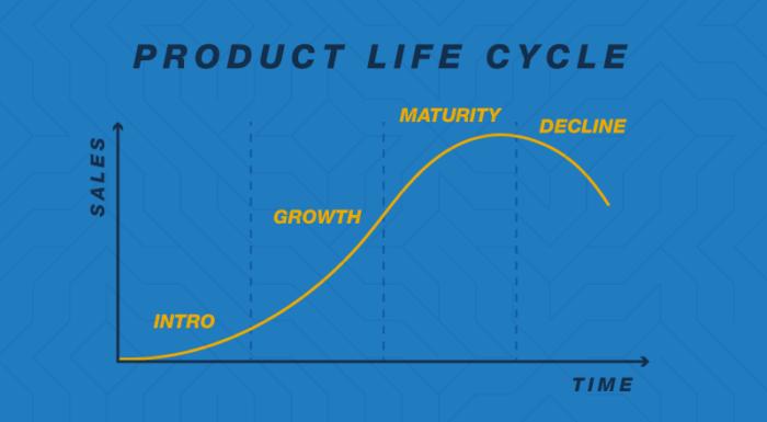 5 fases do ciclo de vida do produto