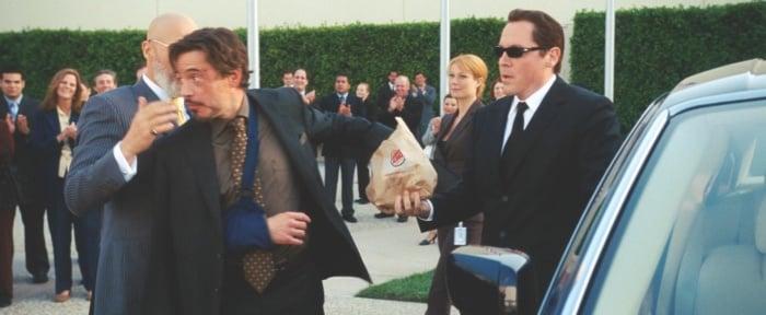 merchandising da burger king no filme homem de ferro