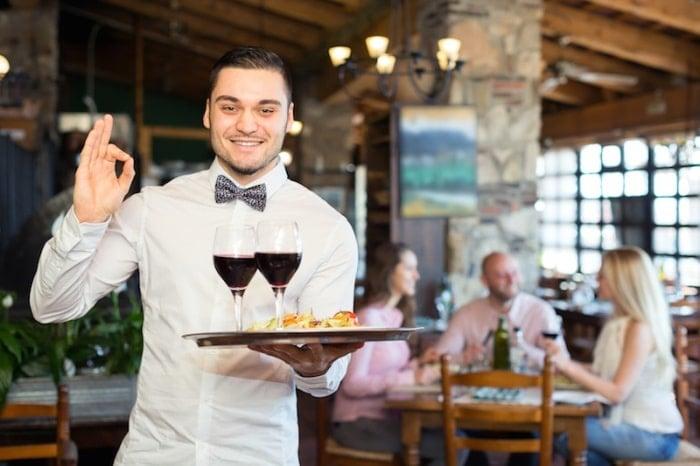 merchandising em restaurantes