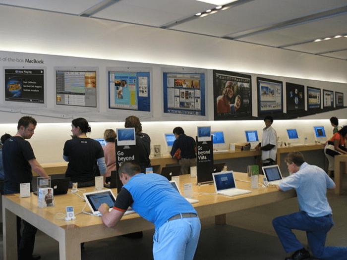 merchandising na apple store