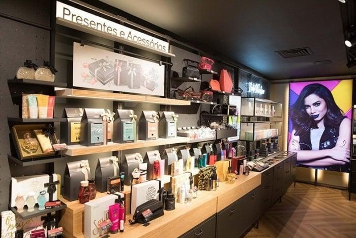 merchandising na loja boticario