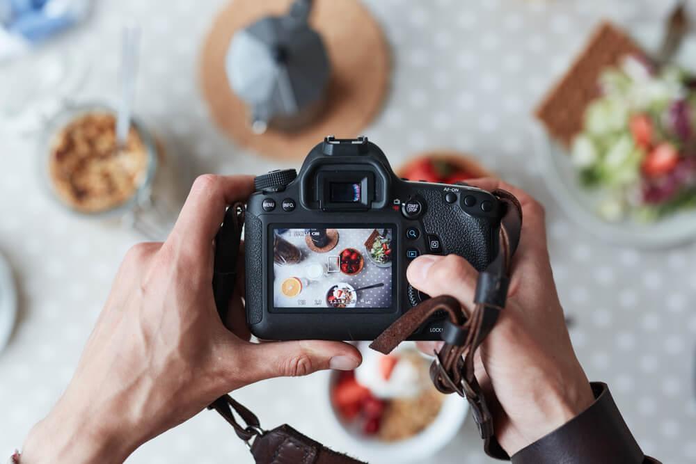 fotografia de comidas