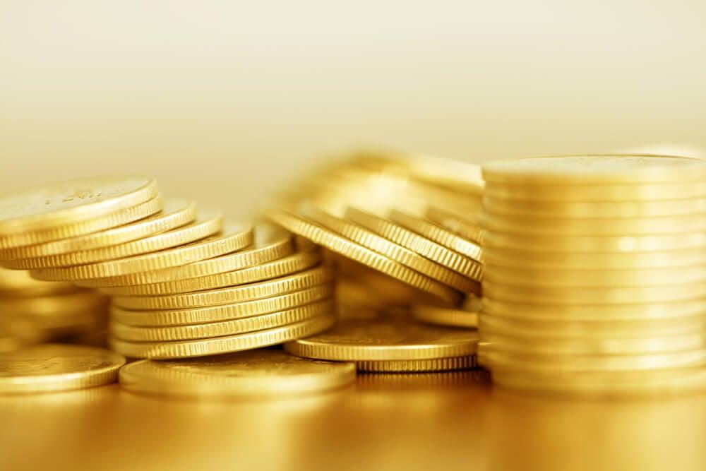 moedas representando preço em marketing