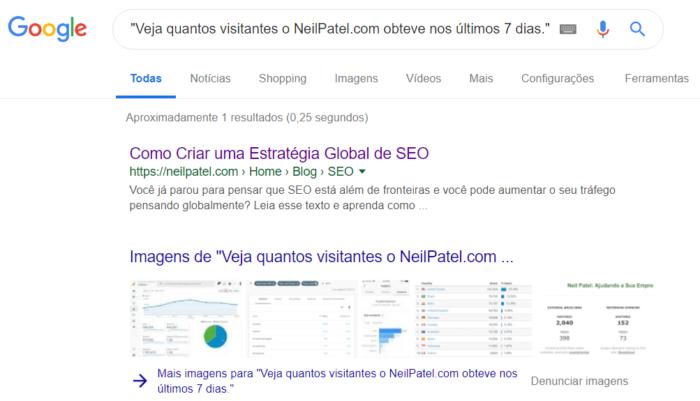 pesquisa conteudo google