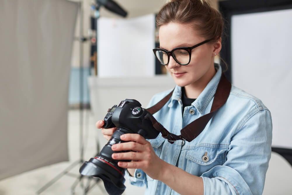 profissional autônoma na area de fotografia