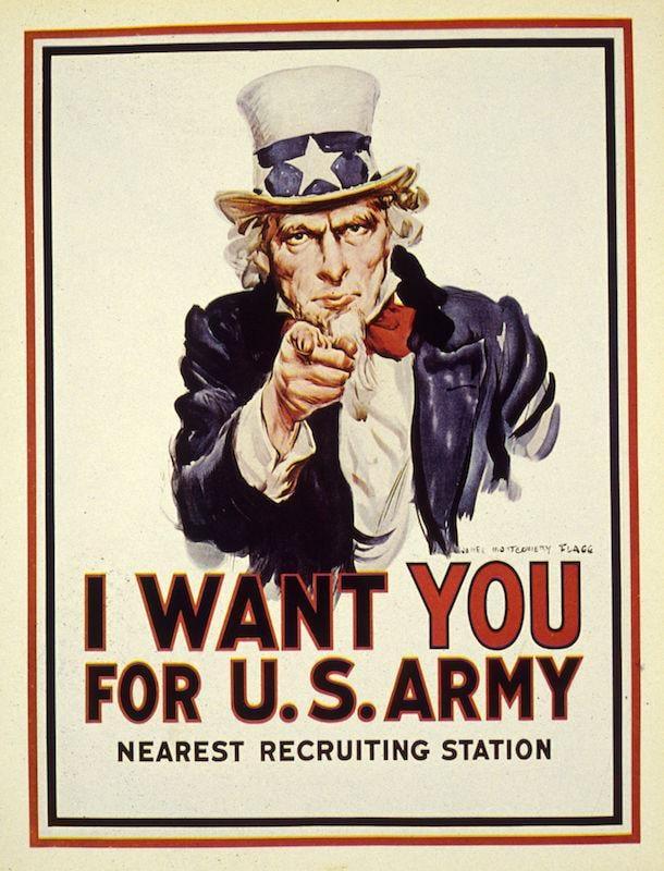 primeira guerra mundial propaganda
