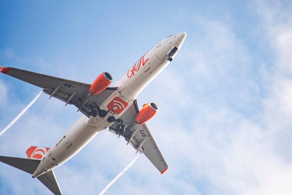 aeronave da empresa Gol